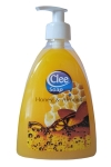 Clee Honey & Almond, tekuté mýdlo 500ml